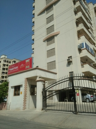 3 BHK Apartment for Sale in Navyug Apartments - Exterior View