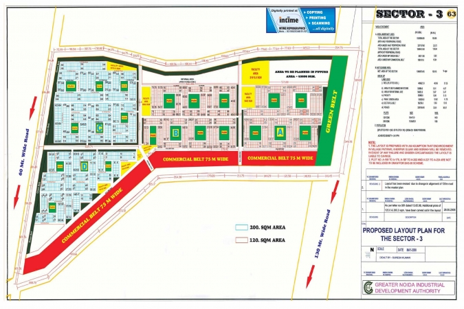 Residential Plot for Sale in Sector 3 Greater Noida - Location Map