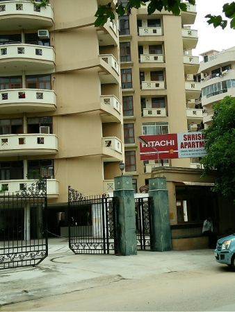 3 BHK Apartment for Rent in Shristi Apartments - Exterior View