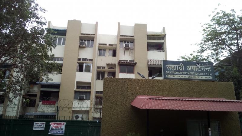 2 BHK Apartment for Rent in Sahyadri Apartment - Exterior View