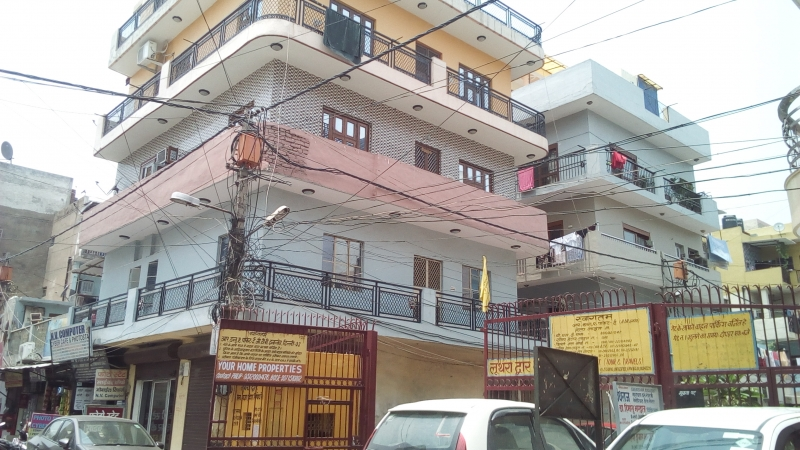 1 BHK Apartment for Rent in DDA Pocket E - Exterior View