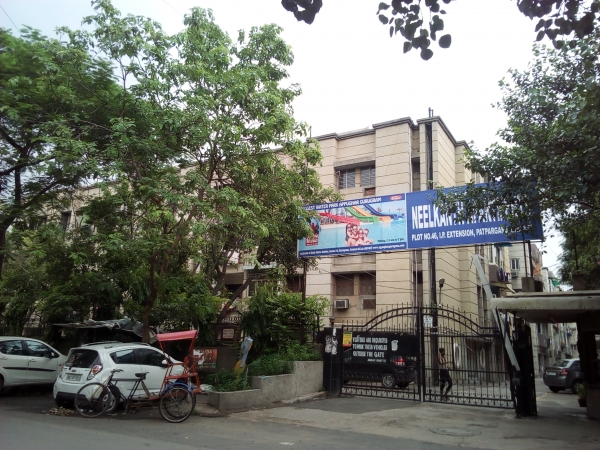 2 BHK Apartment for Rent in Neelkanth Apartments - Exterior View
