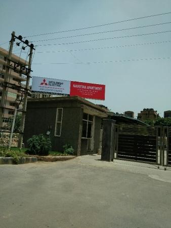 4 BHK Apartment for Rent in Navketan Apartment - Exterior View