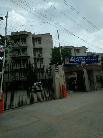 3 BHK Apartment for Rent in Rail Vihar - Exterior View