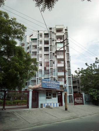 2 BHK Apartment for Rent in Sneh Kunj Apartments - Exterior View