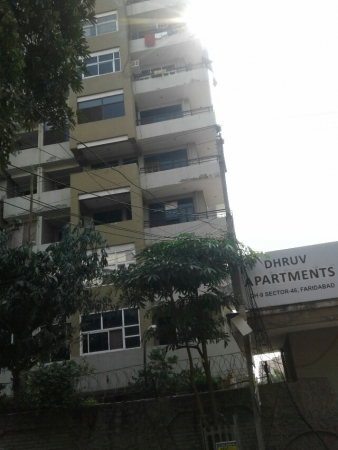 2 BHK Apartment for Rent in Dhruv Apartment - Exterior View