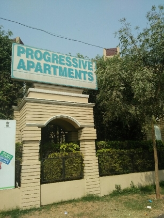 3 BHK Apartment for Rent in Progressive Apartments - Exterior View
