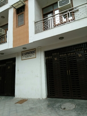 3 BHK Apartment for Rent in KP Apartments - Exterior View