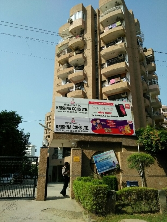 3 BHK Apartment for Rent in Krishna Apartments - Exterior View