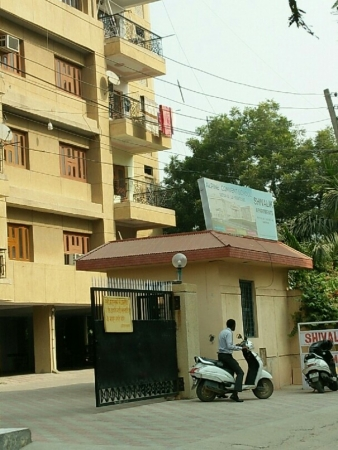 3 BHK Apartment for Rent in Shivalik Apartments - Exterior View