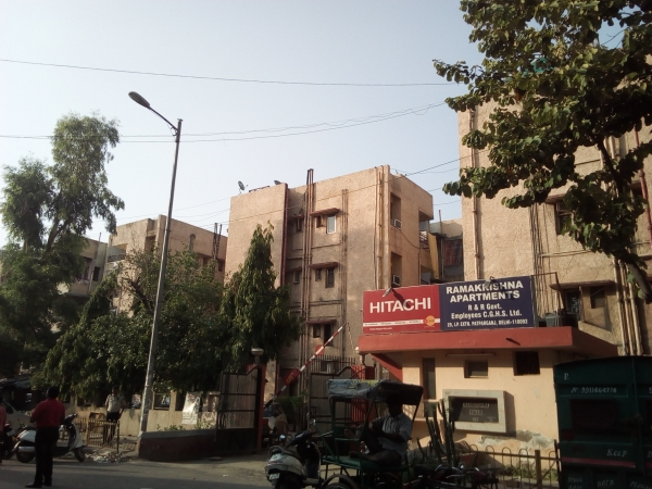 2 BHK Apartment for Rent in Ramakrishna Apartments - Exterior View