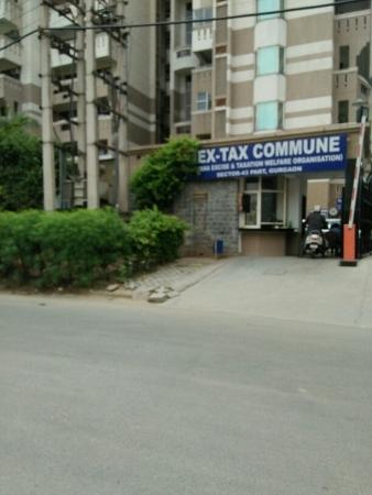 3 BHK Apartment for Rent in Hextax Commune Apartments - Exterior View