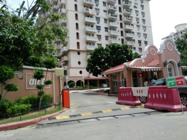3 BHK Apartment for Rent in DLF Wellington Estate - Exterior View