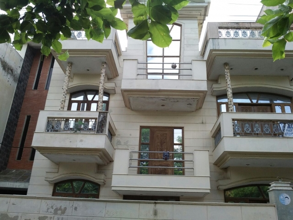 3 BHK Floor for Sale in Sector 46 Faridabad - Exterior View