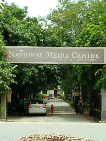 3 BHK Floor for Rent in The National Media Centre - Exterior View
