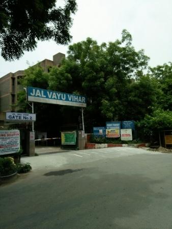 2 BHK Apartment for Rent in Halwasiya Jalvayu Vihar - Exterior View