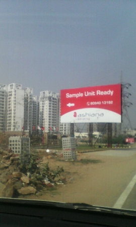 3 BHK Floor for Sale in NH-8 Gurgaon - Exterior View