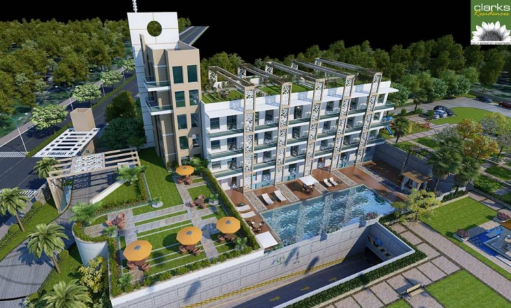 Rise Clarks Residences, Sector 41, Faridabad - Building