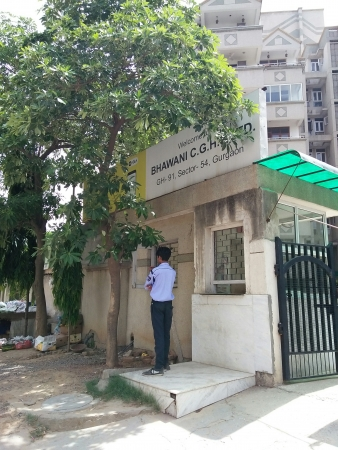Bhawani Apartments, Sun City, Gurgaon - Building