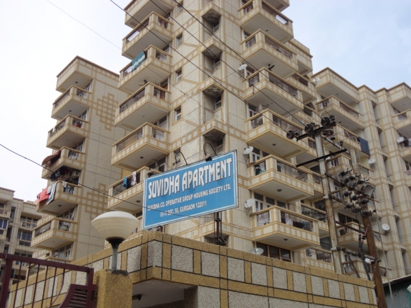 Suvidha Apartment, Sector 56, Gurgaon - Building