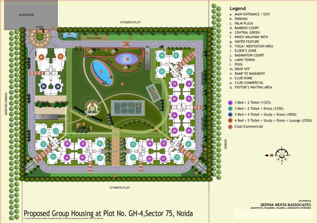 JM Aroma, Sector 75, Noida - Building