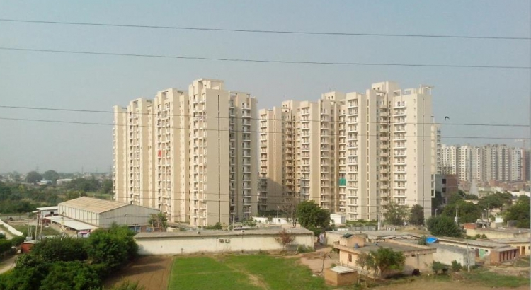 Ozone Park Apartments, Sector 86, Faridabad - Building