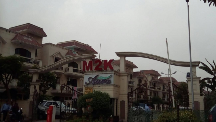 M2K Aura, Sector 47, Gurgaon - Building