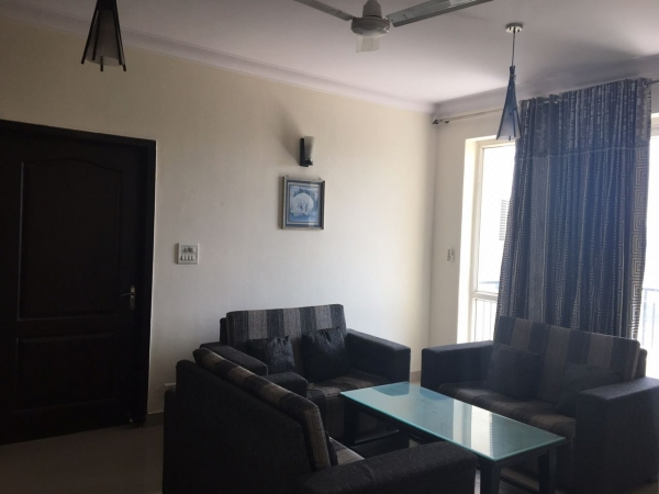 3 BHK Apartment for Rent in Dhoot Time Residency - Living Room