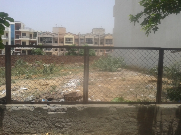 Residential Plot for Sale in Sector 57 Gurgaon - Exterior View
