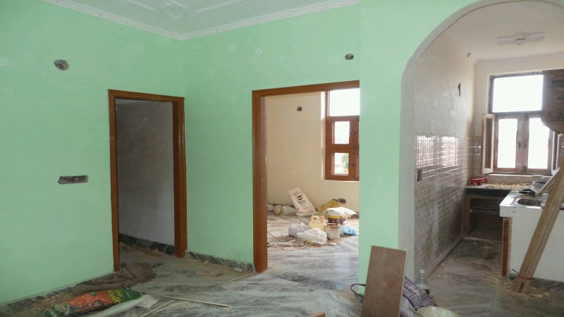2 BHK Apartment for Sale in Bansal Green Home - Living Room
