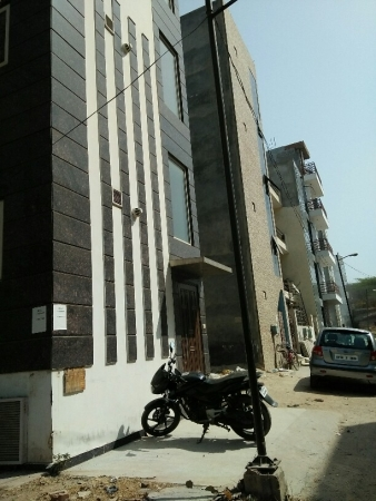 1 BHK Floor for Rent in Ansal Sushant Lok 2 - Exterior View