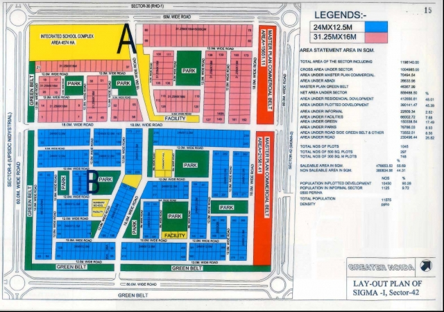 Residential Plot for Sale in Sigma 1 Greater Noida - Location Map