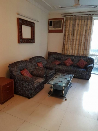 2 BHK Apartment for Sale in DLF Princeton Estate - Living Room