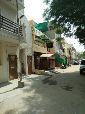 1 BHK Floor for Rent in Maruti Vihar Gurgaon - Exterior View