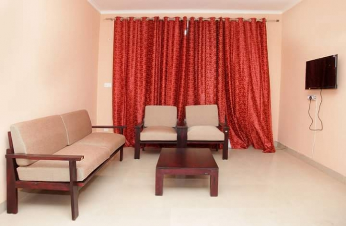 3 BHK Apartment for Rent in Hewo Apartments II - Living Room
