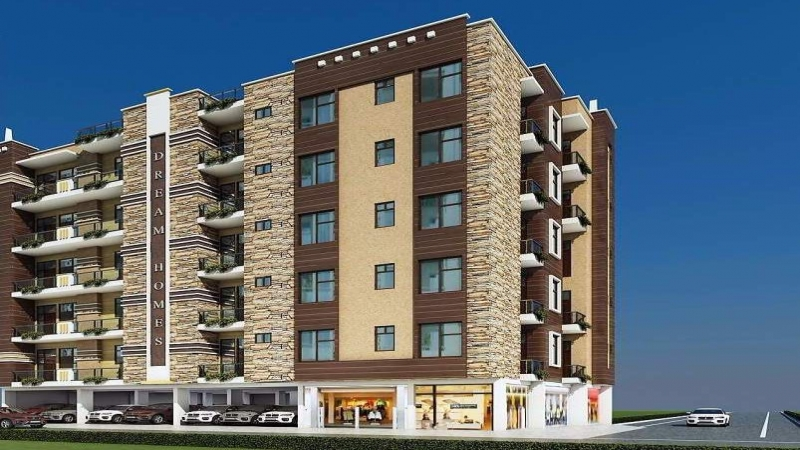2 BHK Apartment for Sale in Maan Dream Homes 2 - Exterior View