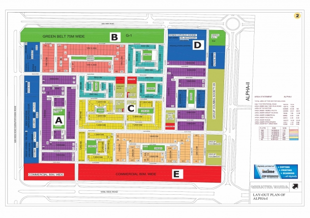 5 BHK Villa for Sale in Alpha 1 Greater Noida - Location Map