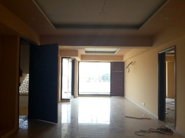 3 BHK Apartment for Rent in Hamlin Apartments - Living Room