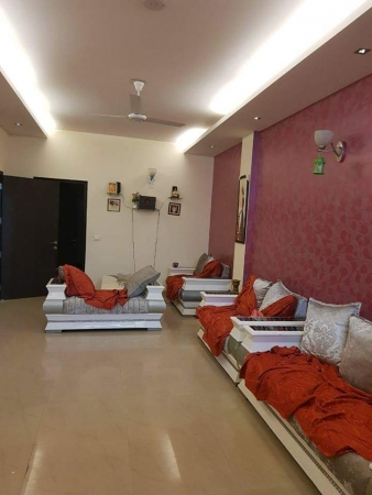 3 BHK Apartment for Rent in Rose Apartment - Living Room