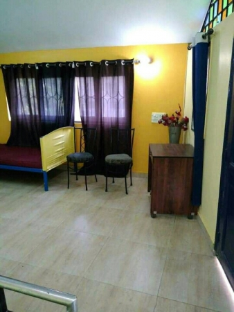 1 BHK Apartment for Rent in Green view Apartment - Living Room