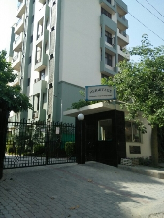 3 BHK Apartment for Sale in Hermitage Apartments - Exterior View