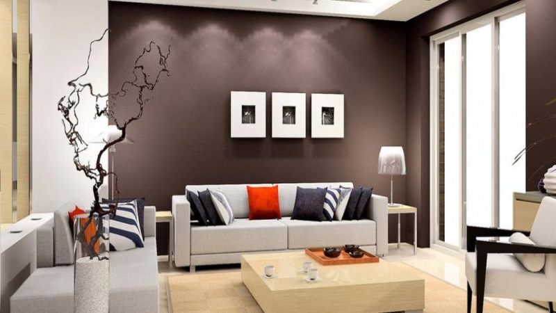 2 BHK Apartment for Sale in Supertech Romano - Living Room
