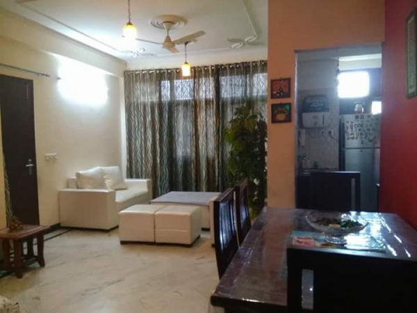 3 BHK Apartment for Rent in Sector 46 Gurgaon - Living Room