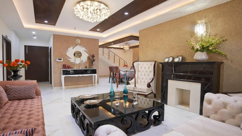 2 BHK Apartment for Sale in Amrapali Cloud Ville - Living Room