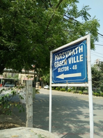 3 BHK Apartment for Rent in Parsvnath Green Ville - Exterior View
