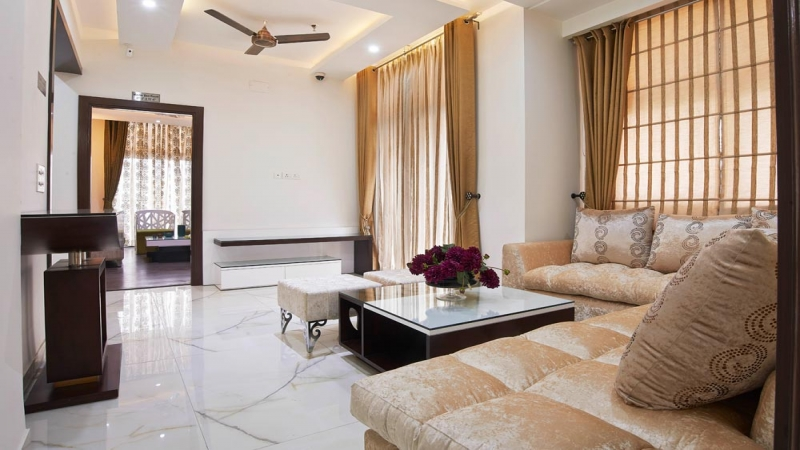 3 BHK Apartment for Sale in Amrapali Cloud Ville - Living Room